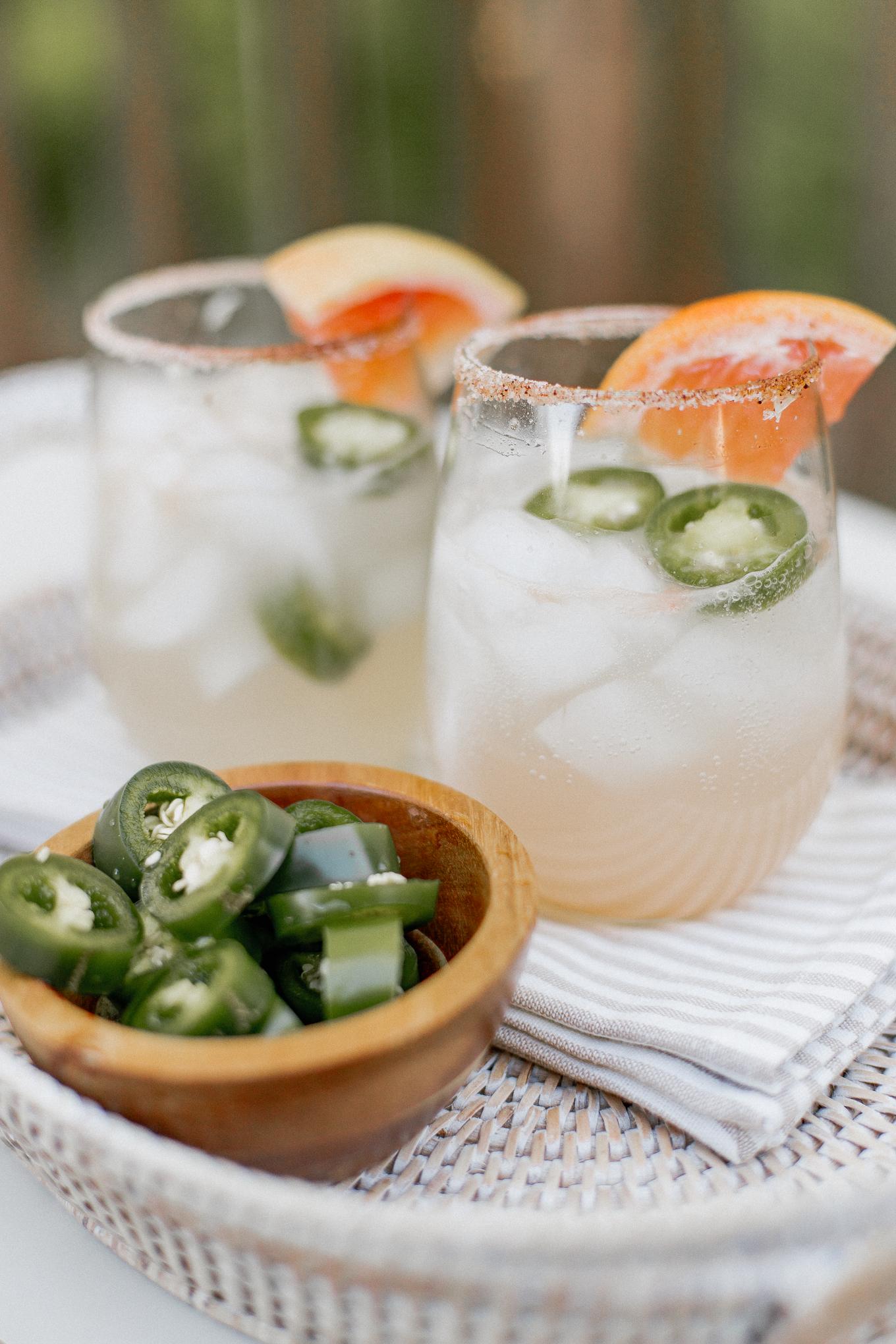 Spicy Grapefruit Margarita Recipe | Louella Reese