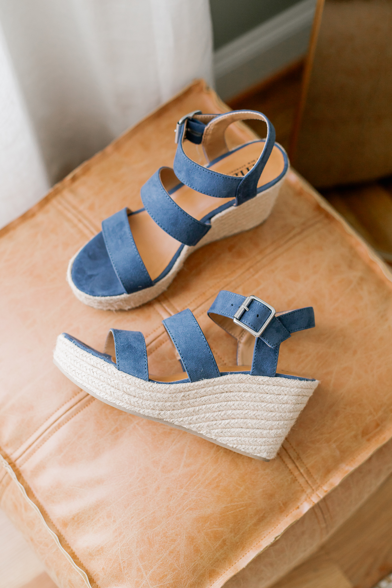 The BEST Affordable Spring Sandals for Women   Blue Suede Espadrilles   Louella Reese