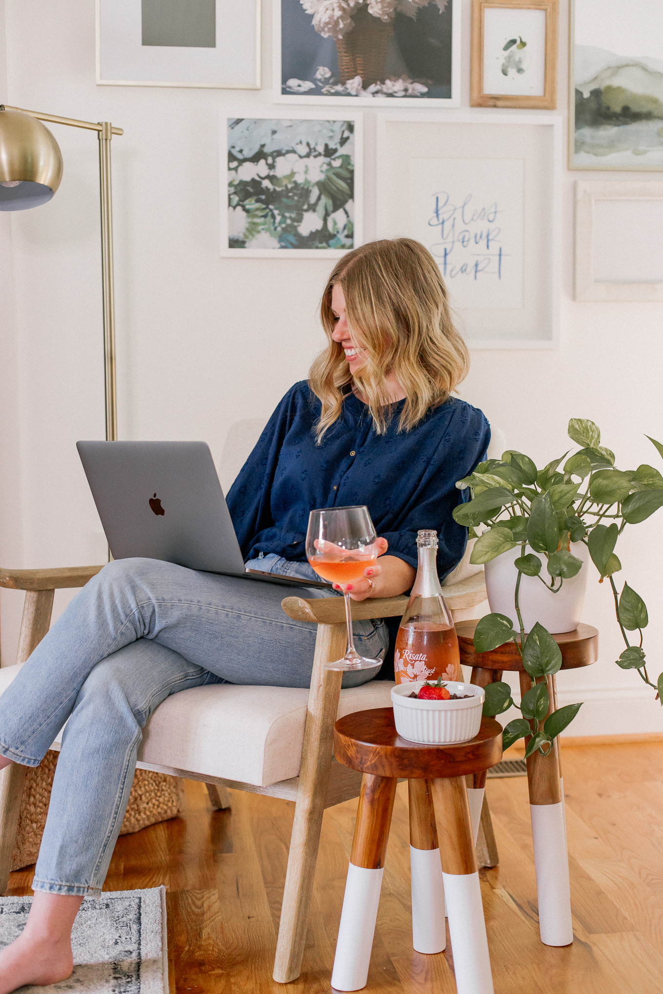 How to Host the Ultimate Virtual Happy Hour | Louella Reese