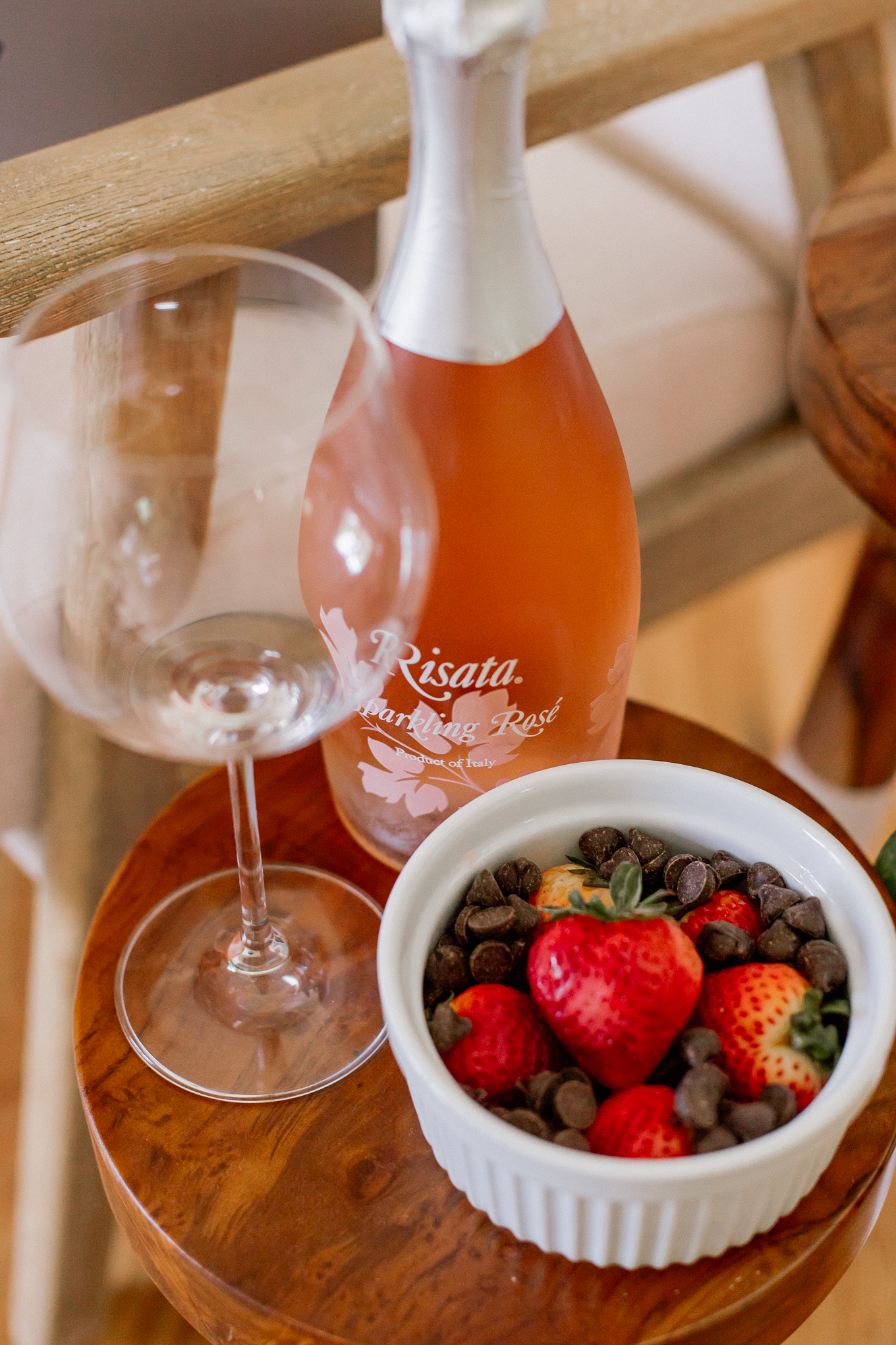 Wine and Appetizer Pairings | What to Pair with Sparkling Rosé | Louella Reese