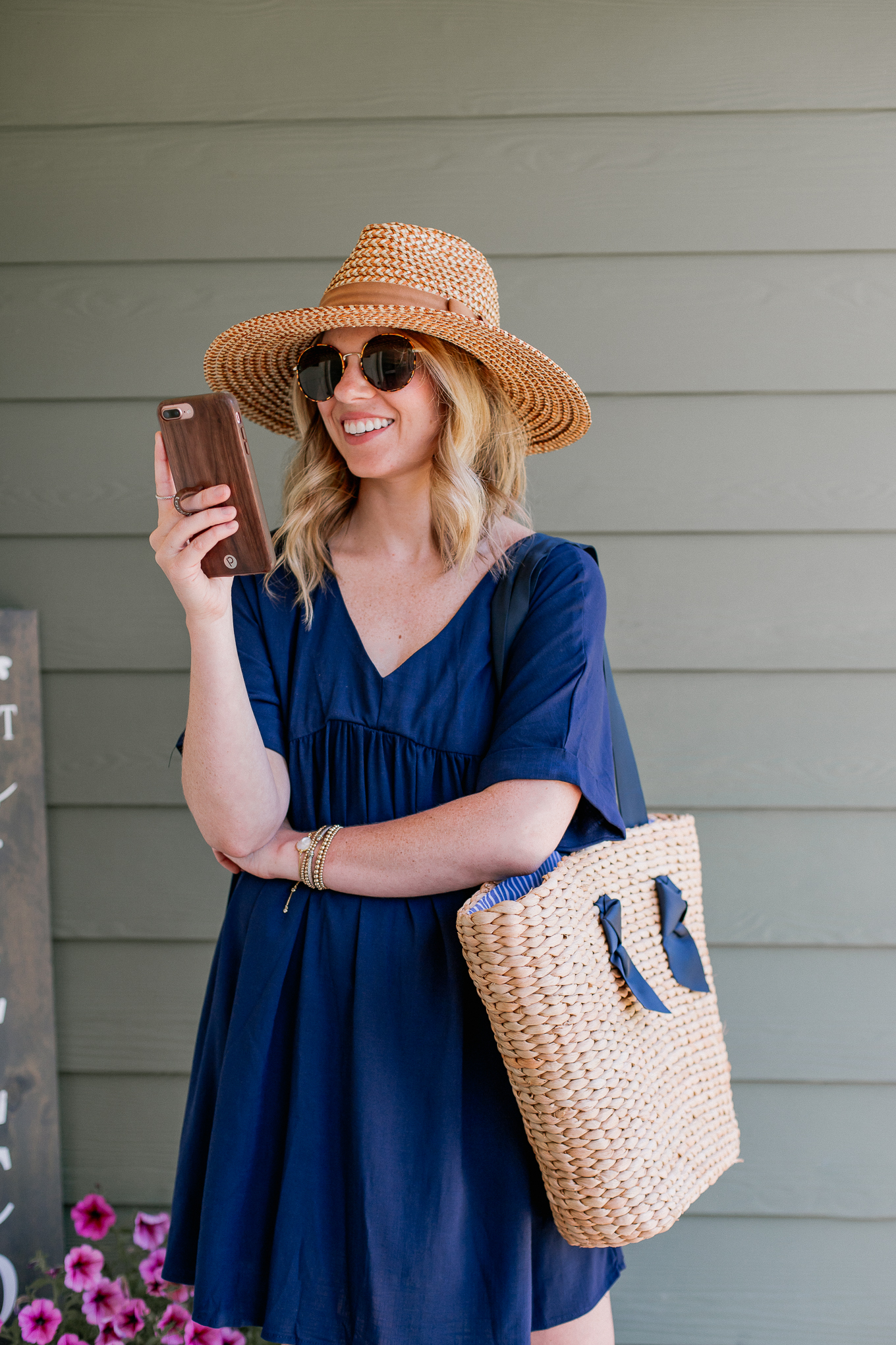 Straw Hat under $50, Affordable Summer Hat | Louella Reese