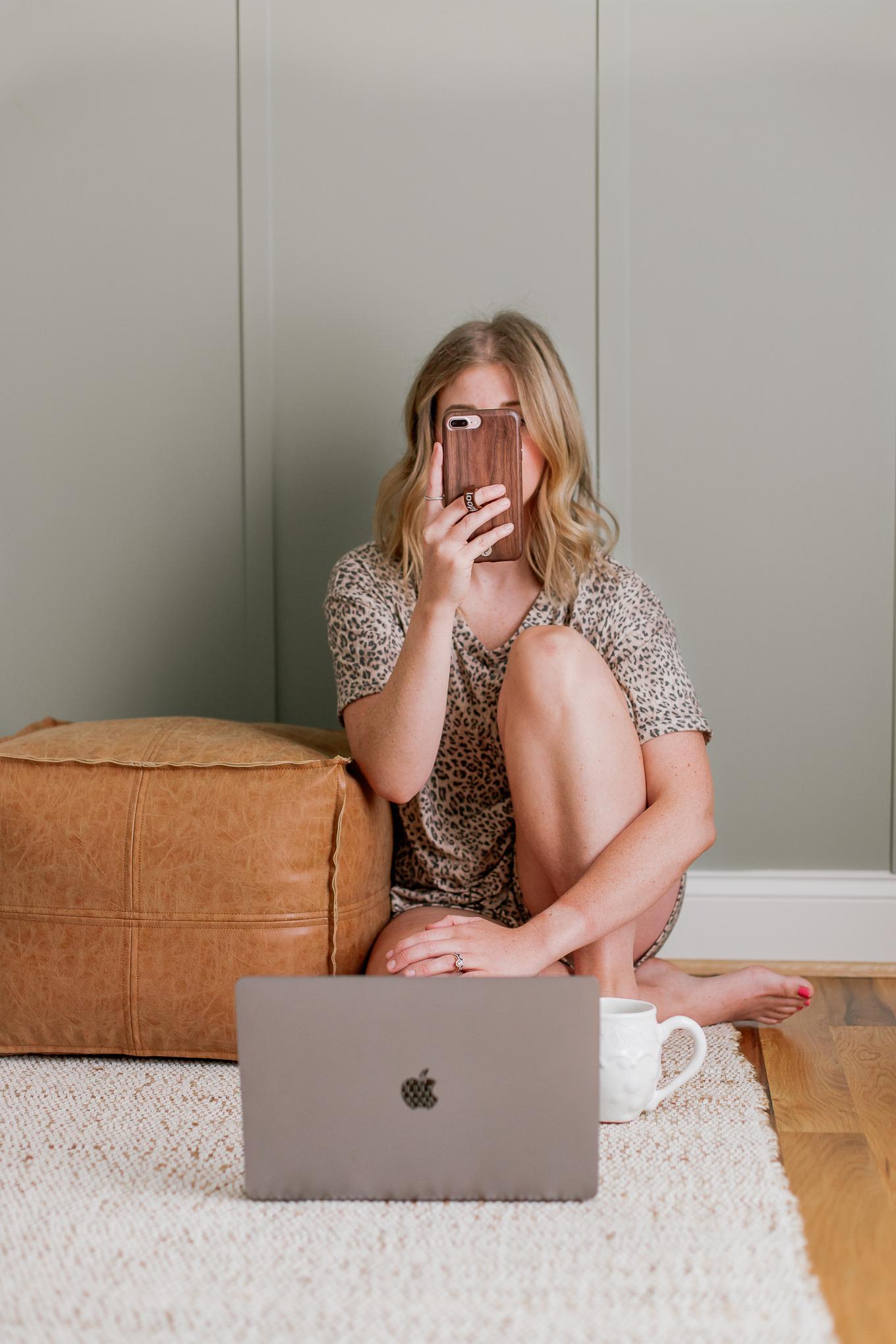 Cute Loungewear, Loungewear Set | Leopard Loungewear | Louella Reese