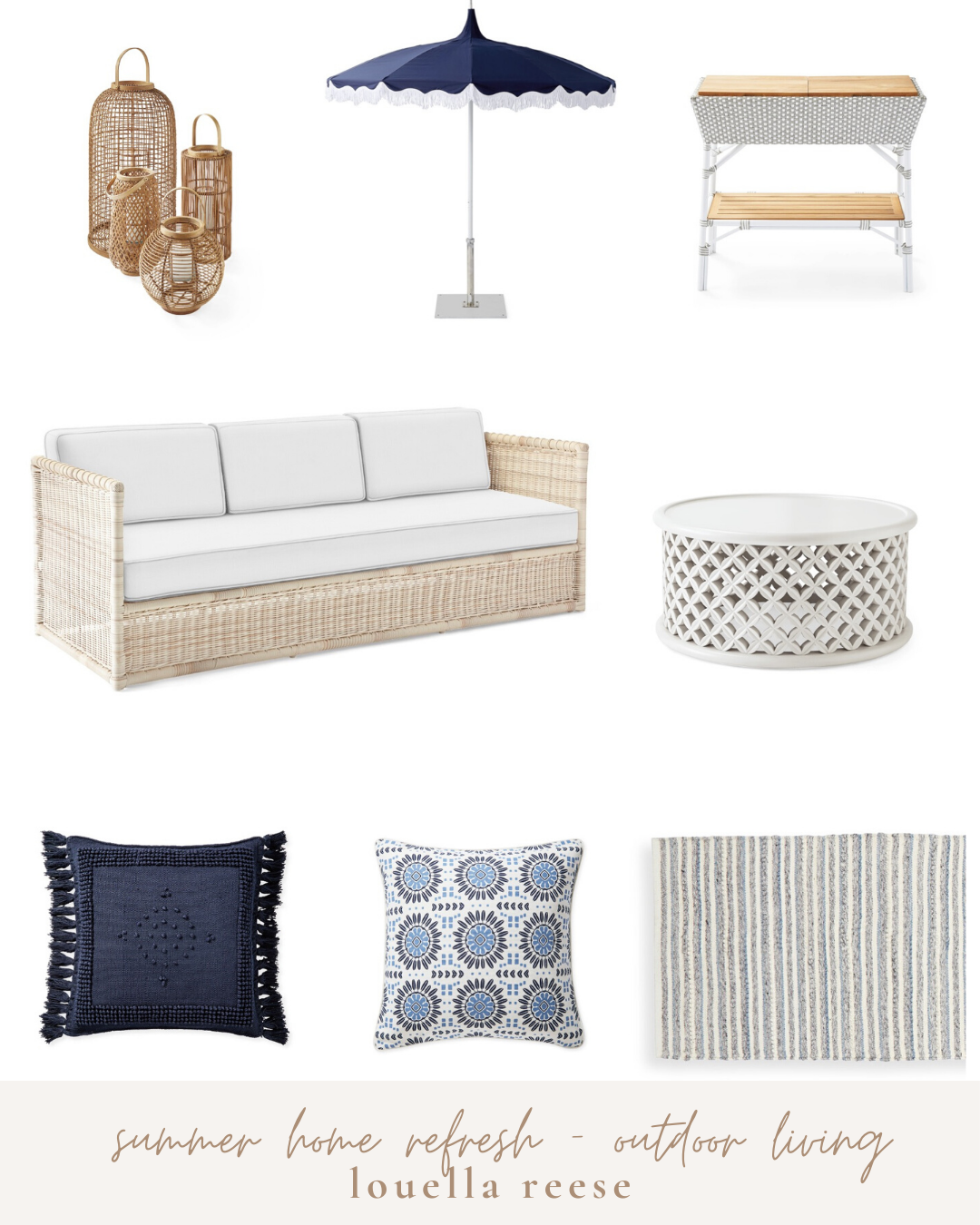 Summer Home Refresh Outdoor Furniture | Memorial Day Weekend Sale | Louella Reese