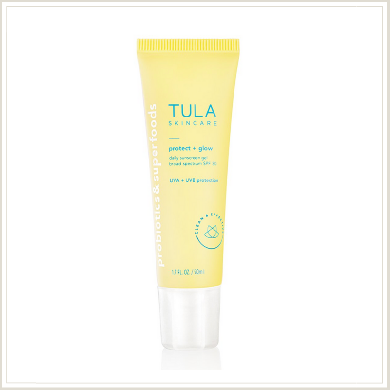 TULA Protect + Glow Daily SPF Review | Louella Reese