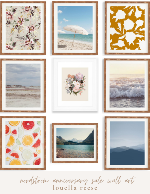 2020 Nordstrom Anniversary Sale Wall Art | Louella Reese