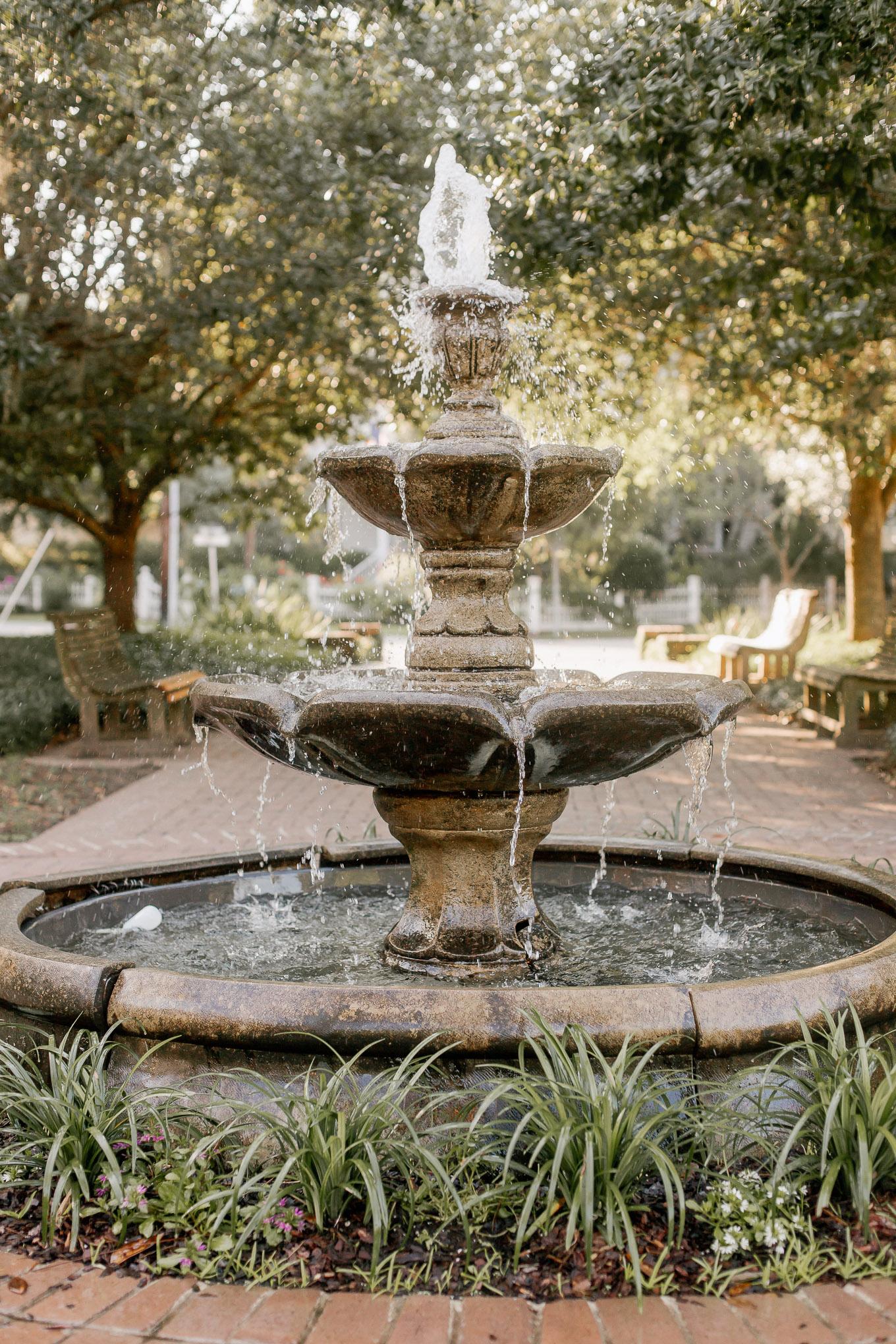 Secret Garden Fountain | Louella Reese