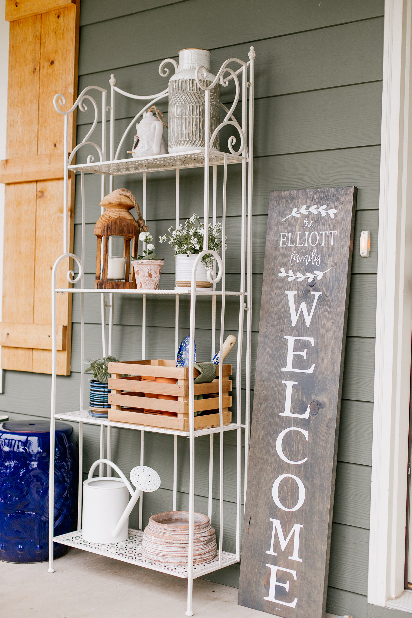 Welcome Front Porch Sign | Louella Reese