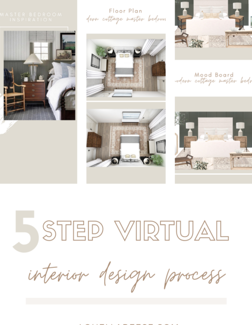 How the Virtual Design Process Works with an Interior Designer | Louella Reese