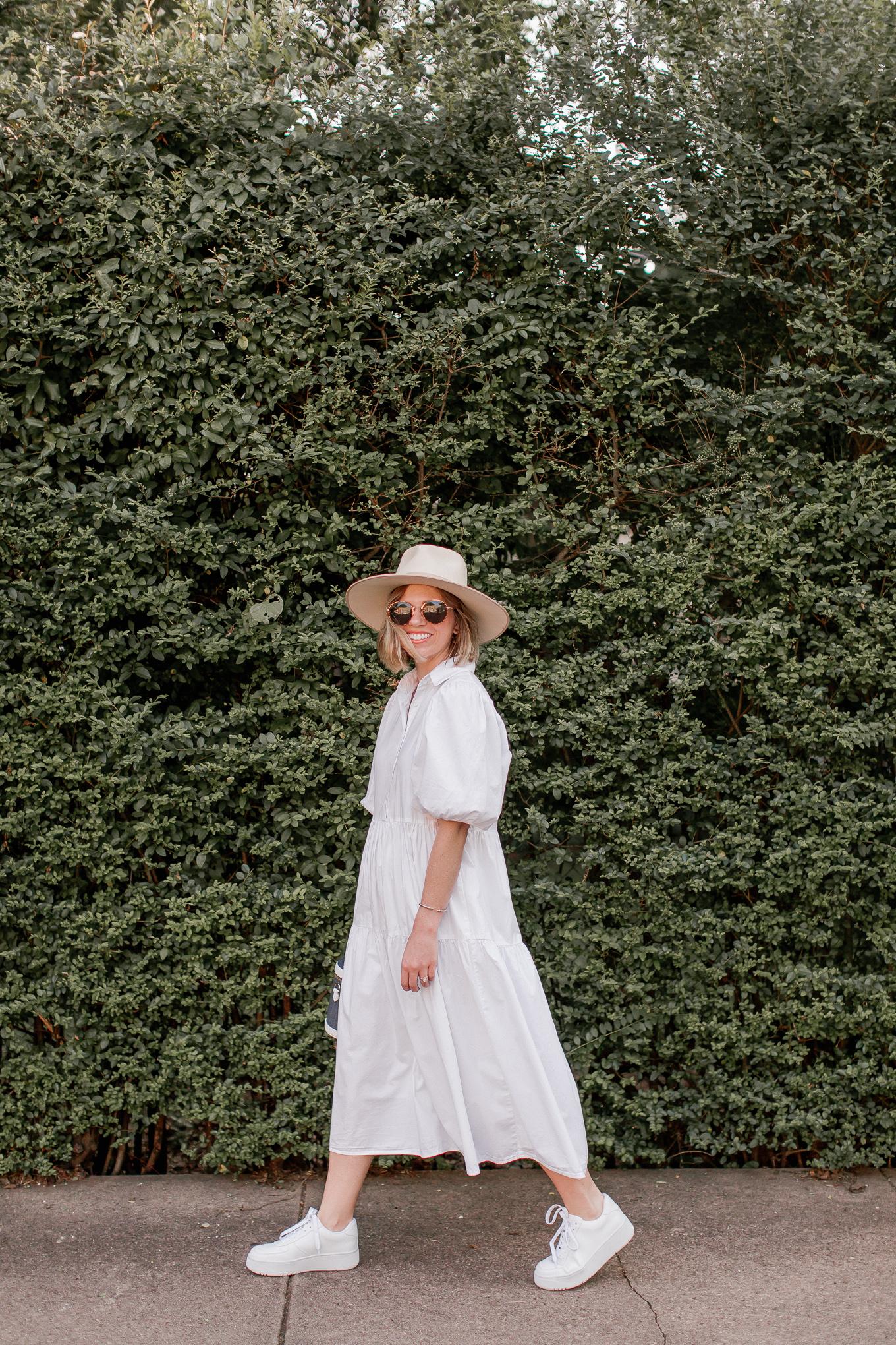 3 Ways to Style a Midi Shirtdress for Now & Into the Fall Season | Louella Reese