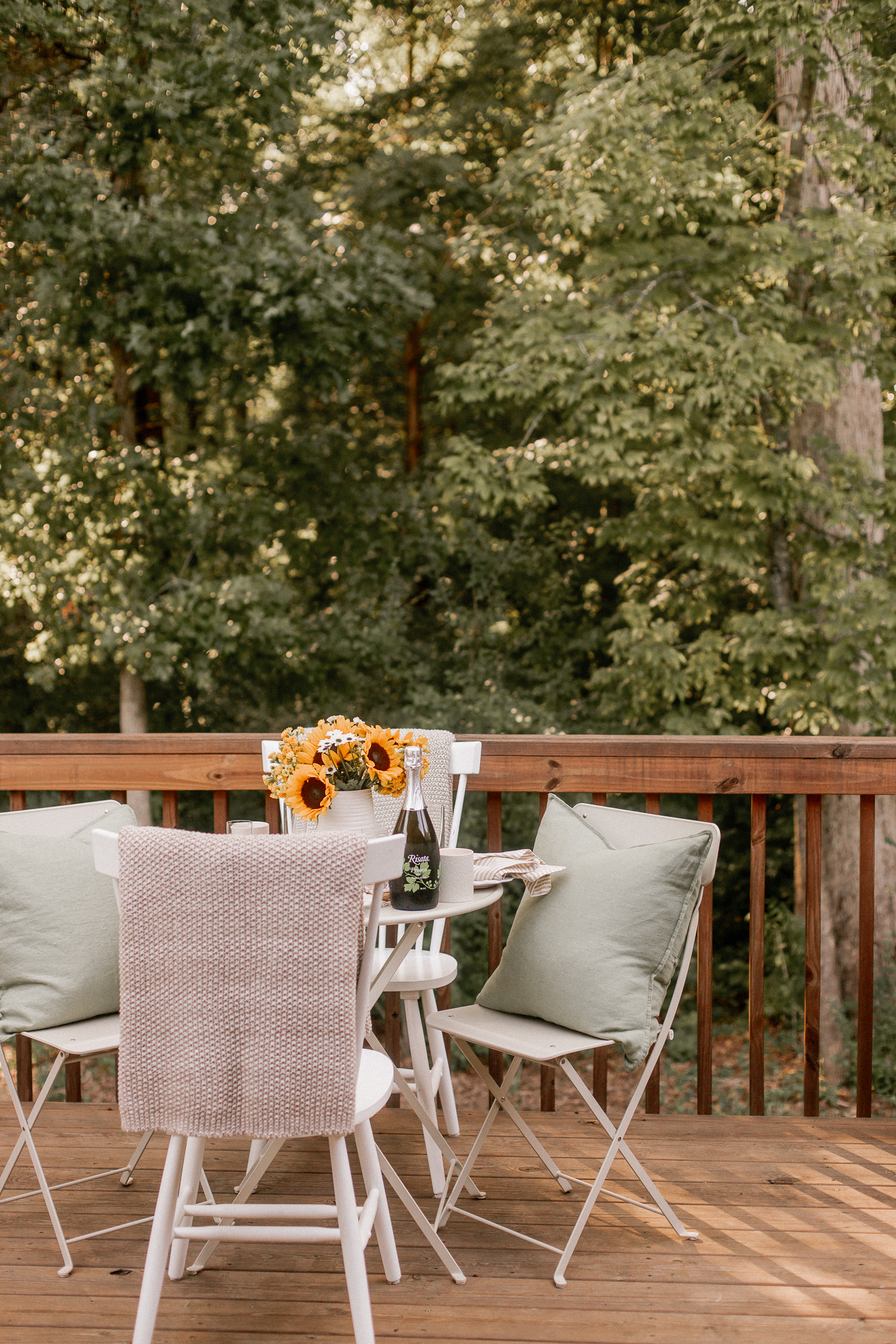 Late Summer Soiree with a Farmer's Market Menu