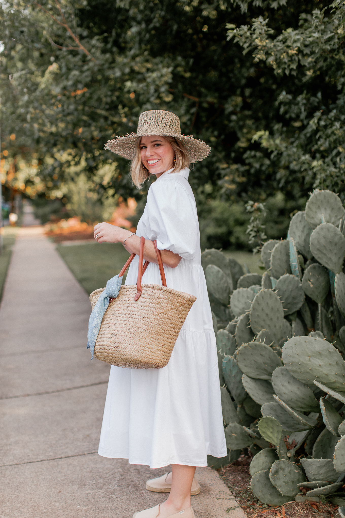 Multiple Ways to Style a White Shirt Dress | Louella Reese