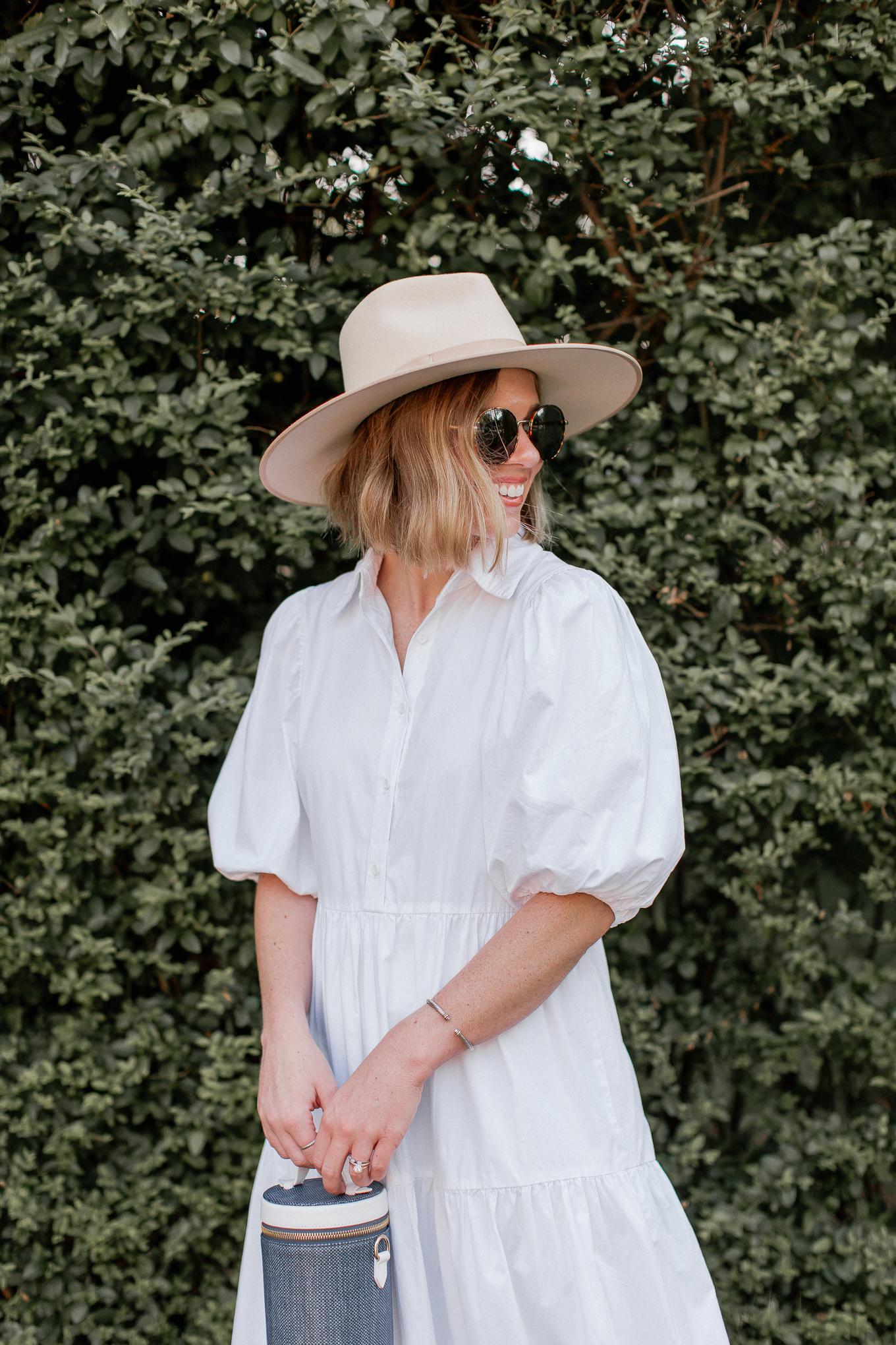 3 Ways to Style a White Shirt Dress | Louella Reese