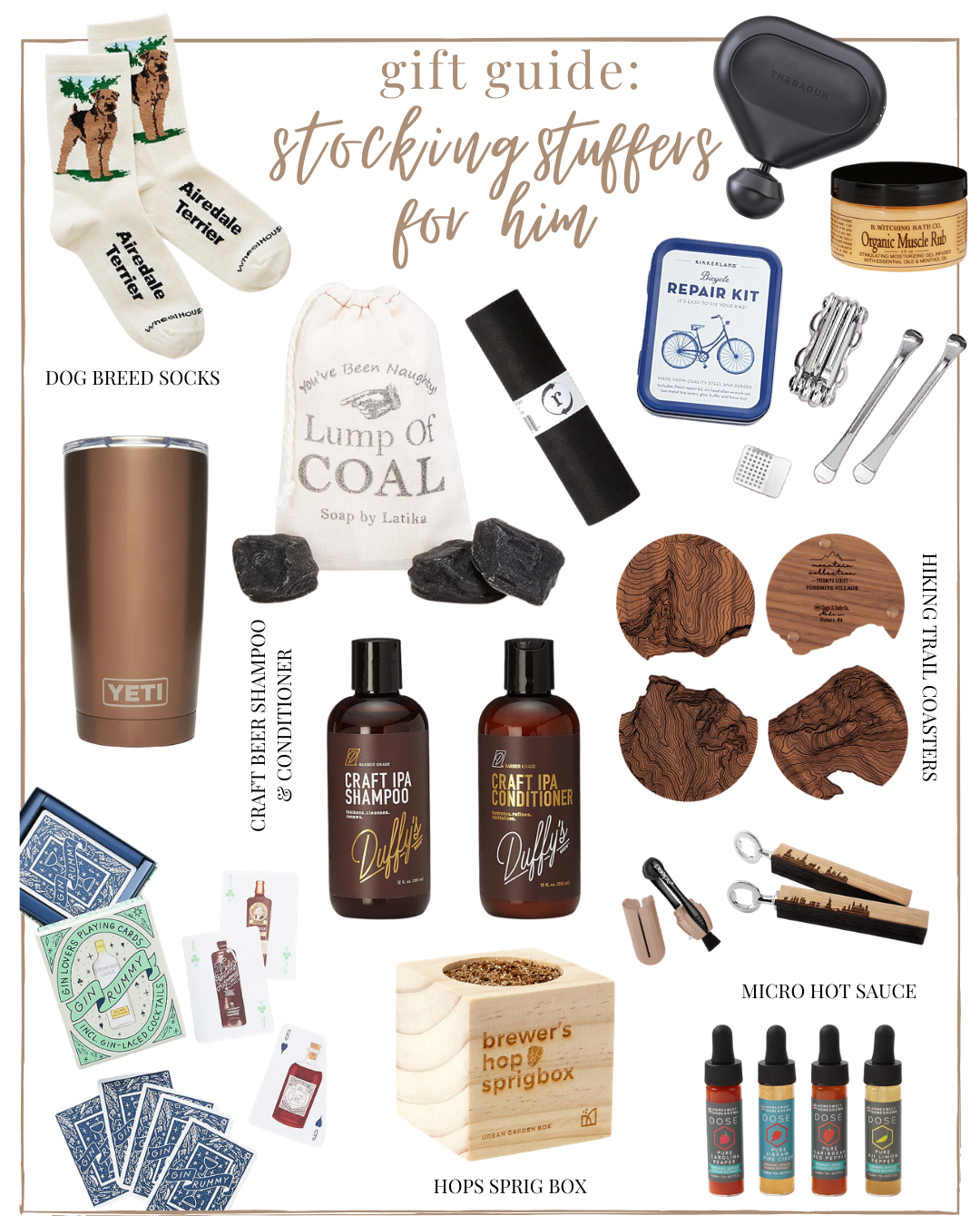 2020 Stocking Stuffers for Him & Her | 2020 Holiday Gift Guide: Stocking Stuffers for Him | 202 Stocking Stuffers | Louella Reese