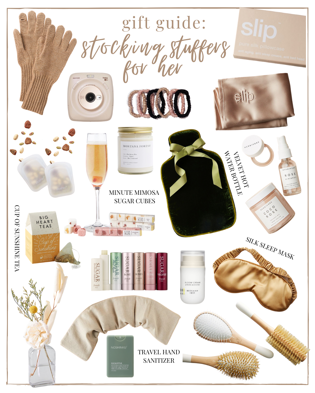 2020 Holiday Gift Guide: Stocking Stuffers for Her | 202 Stocking Stuffers | Louella Reese