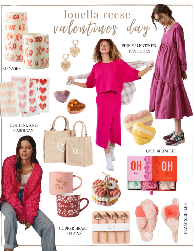 Valentine's Day Gift Guide for Her | pink gifts | lifestyle | Louella Reese
