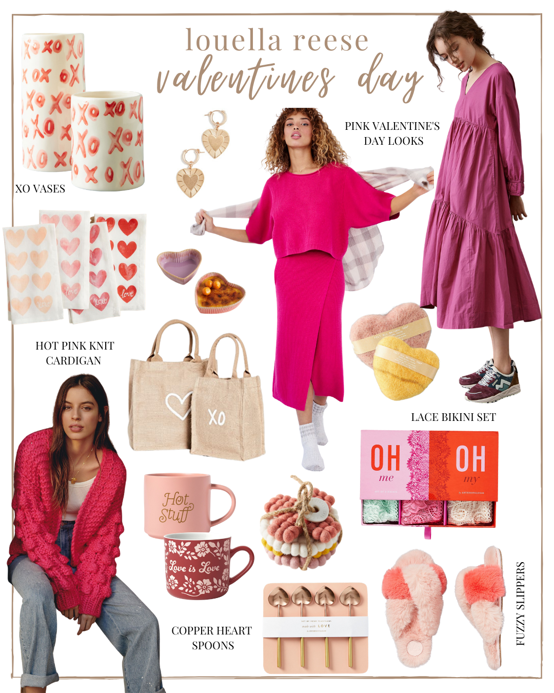 Valentines Day Gift Guide for Her | pink gifts | lifestyle | Louella Reese