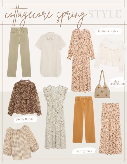 Cottagecore Spring Styles | lifestyle | Louella Reese