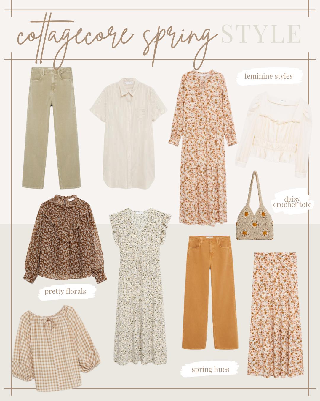 Cottagecore Spring Style | lifestyle | Louella Reese