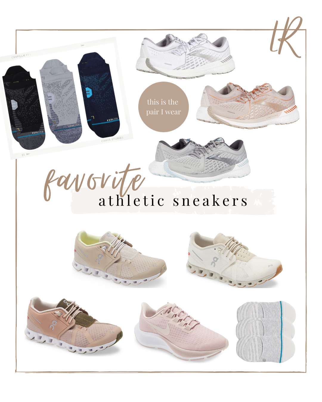 Favorite Athletic Sneakers - at home workout sneakers, running sneakers   lifestyle   Louella Reese