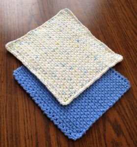 How to crochet a dishcloth - Free pattern