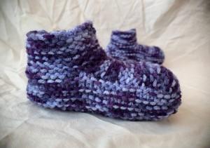 FREE Knitted Slipper Pattern for Children