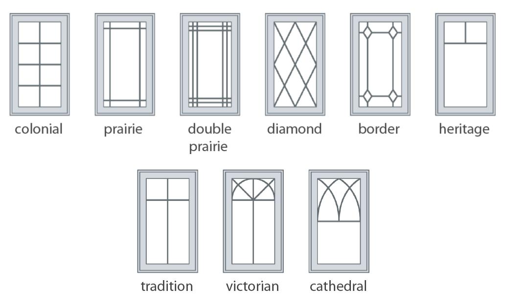 Steel Doors Grill Patterns