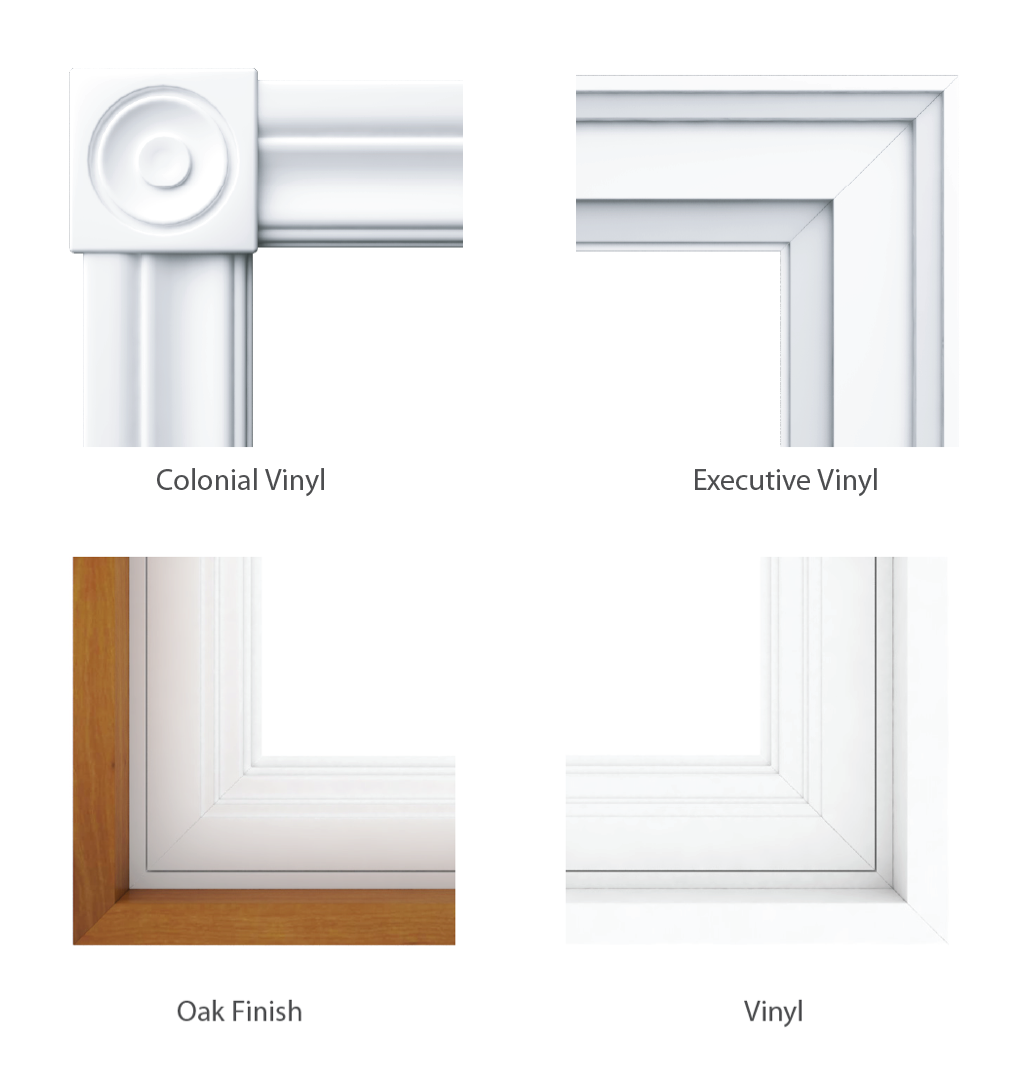 Double Hung Windows Jamb and Casing Options