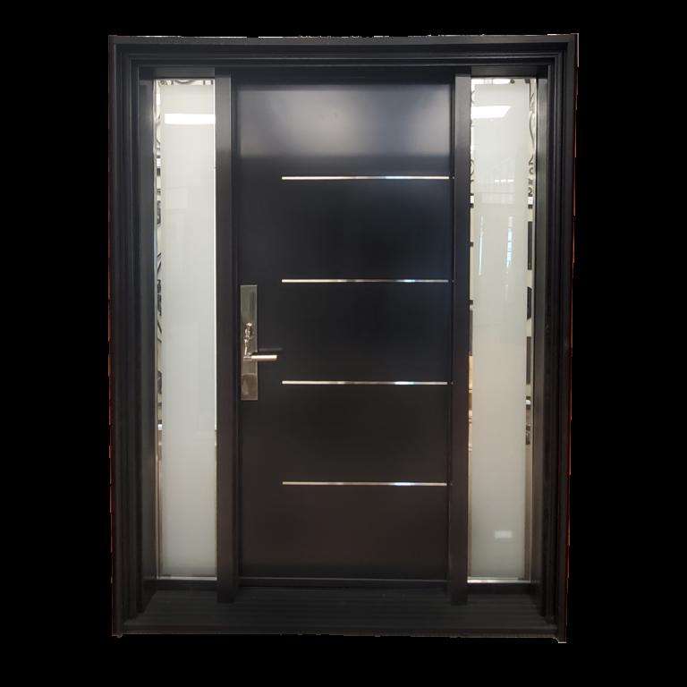 Fiber-Glass-Door-Black