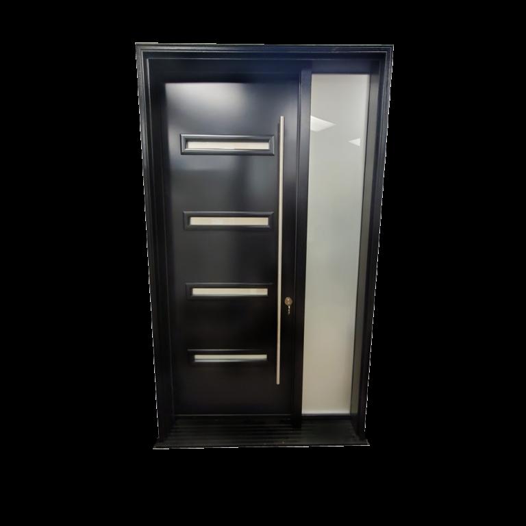 Steel-Door-Black