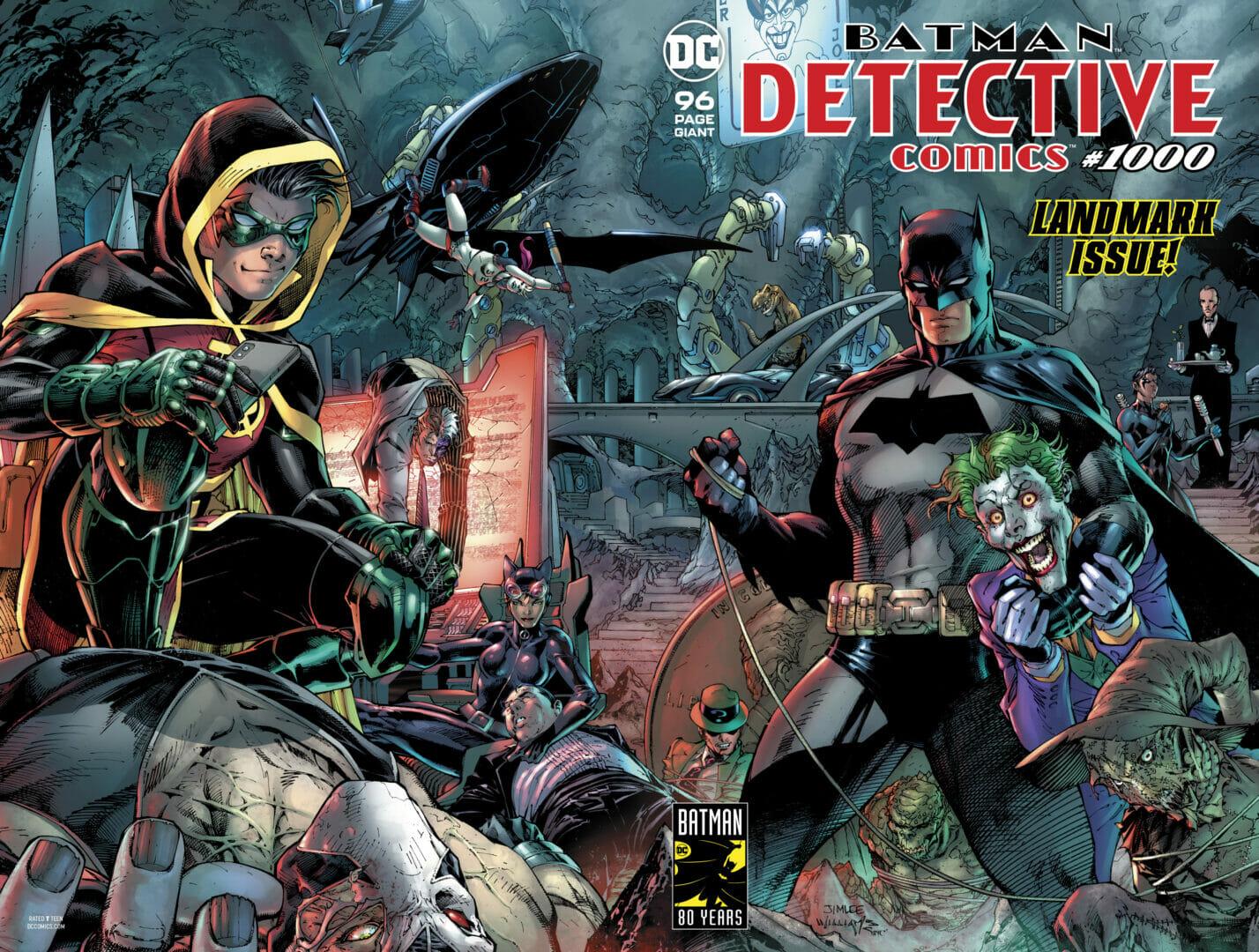 detective comics 1000