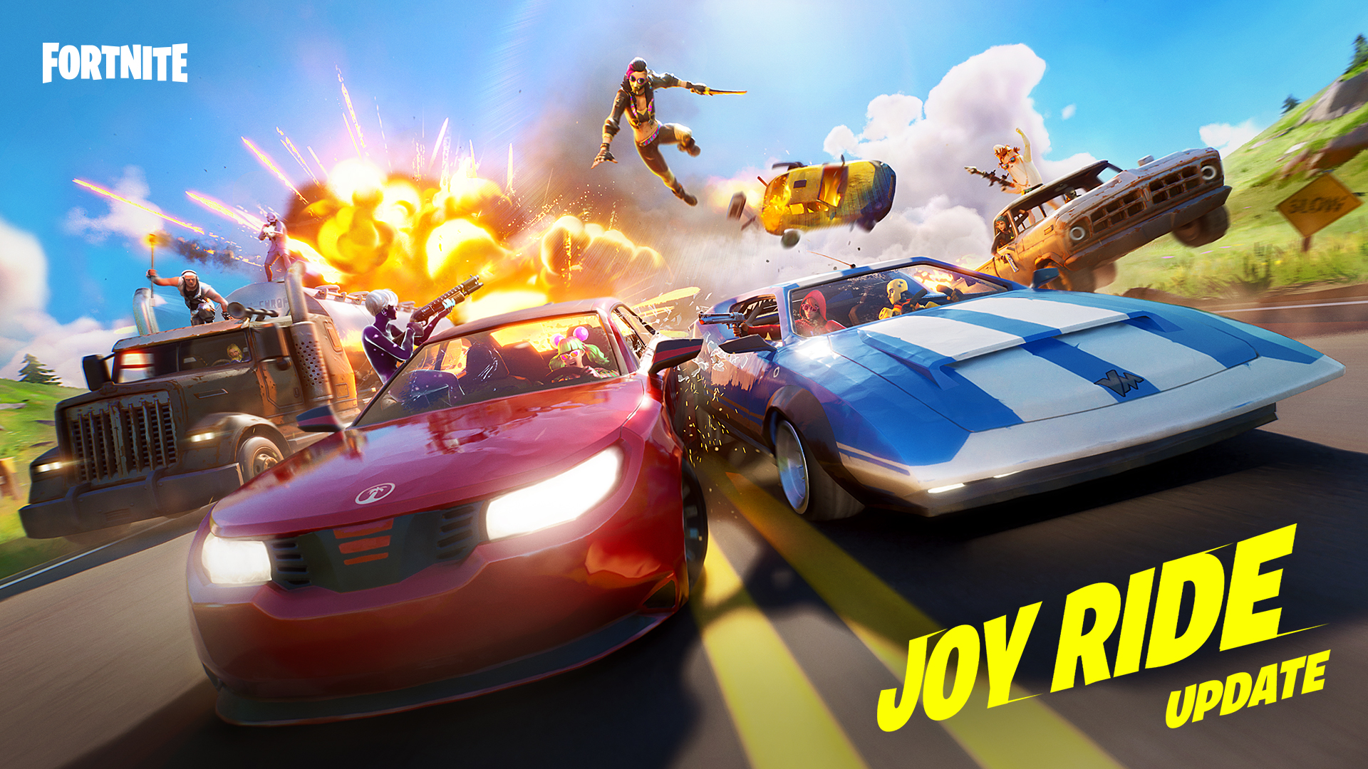 Fortnite Joy Ride