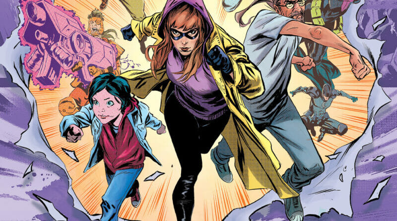 CROSSOVER COMIC SERIES SEES SURGE IN DEMAND, RUSHED BACK TO PRINT