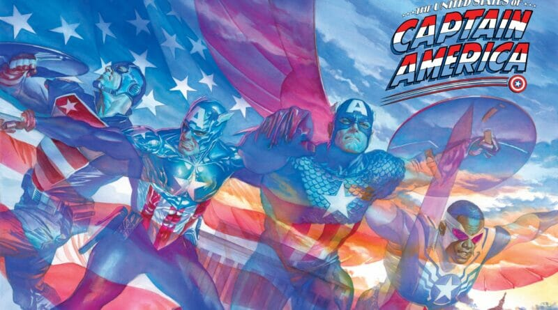 The United States of Captain America Brand-New Limited Series Announced to Celebrate Cap's 80th Anniversary