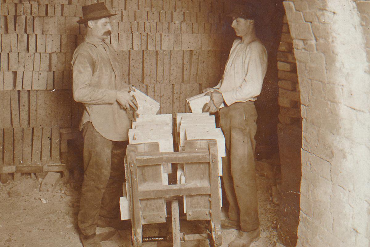 Clay Mining Wheelbarrow