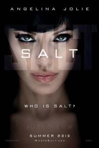 Angelina Jolie's Salt Movie Poster