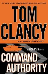 The new Tom Clancy thriller, Command Authority