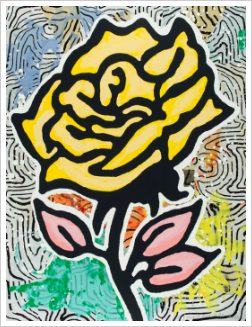1. Yellow Rose
