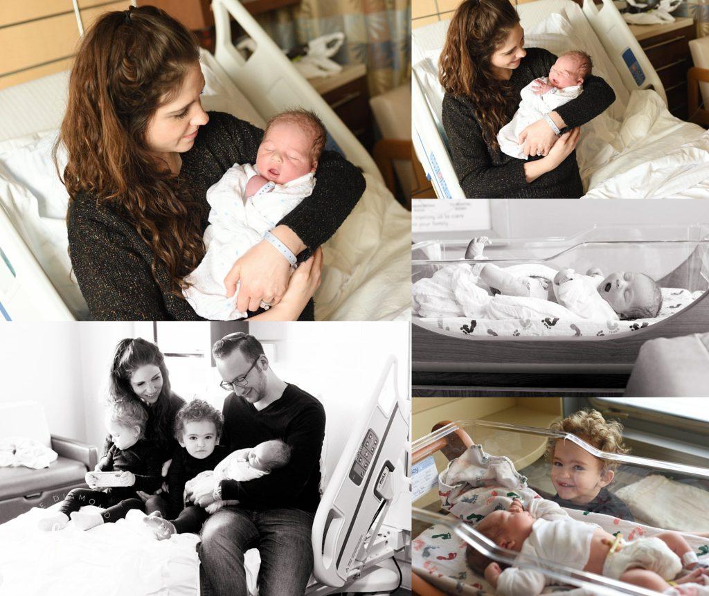 Lifestyle Hospital Newborn Photography