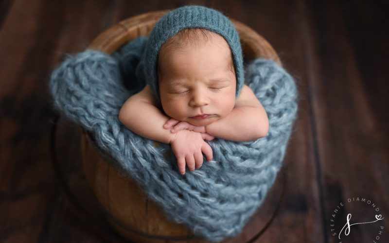 Bergen County Newborn Photographer | Meet Dylan