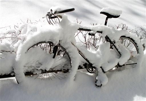 bicicleta snow