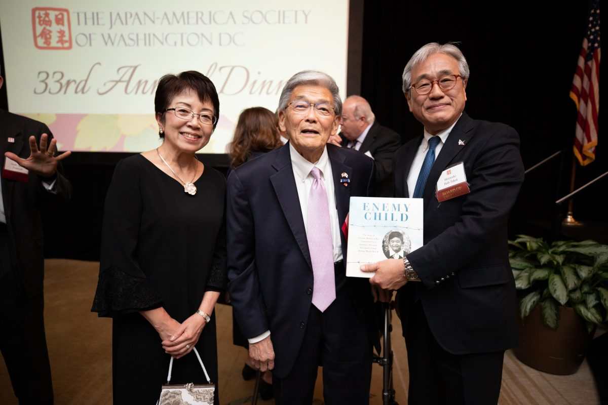 Aoi Takai, Norman Mineta, Hiroyuki Takai