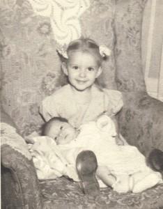 Childhood picture of Linda Seger