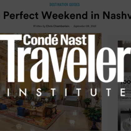 White's Mercantile is mentioned in Conde Nast Traveler Institute
