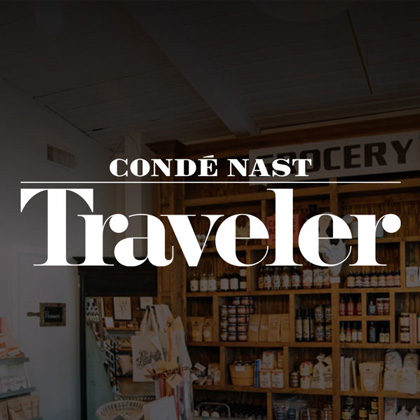 White's Mercantile is mentioned in Conde Nast Traveler