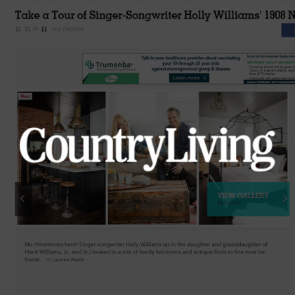 White's Mercantile is mentioned in CountryLiving