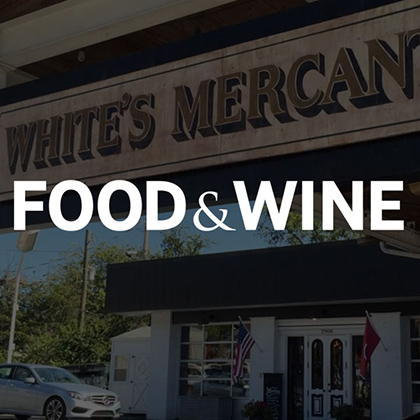 White's Mercantile is mentioned in Food & Wine