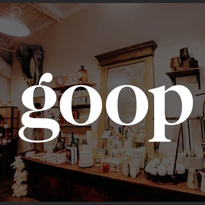 White's Mercantile is mentioned in goop