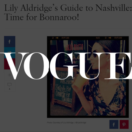 White's Mercantile is mentioned in Vogue