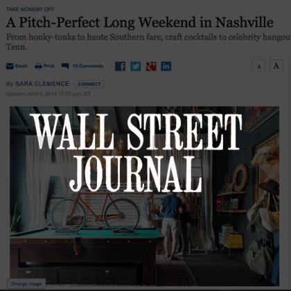 White's Mercantile is mentioned in Wall Street Journal