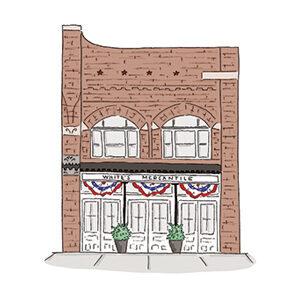 Franklin, TN, White's Mercantile Location